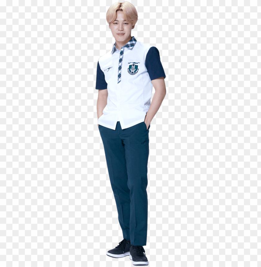 free PNG smart x bts - jimin smart uniform PNG image with transparent background PNG images transparent
