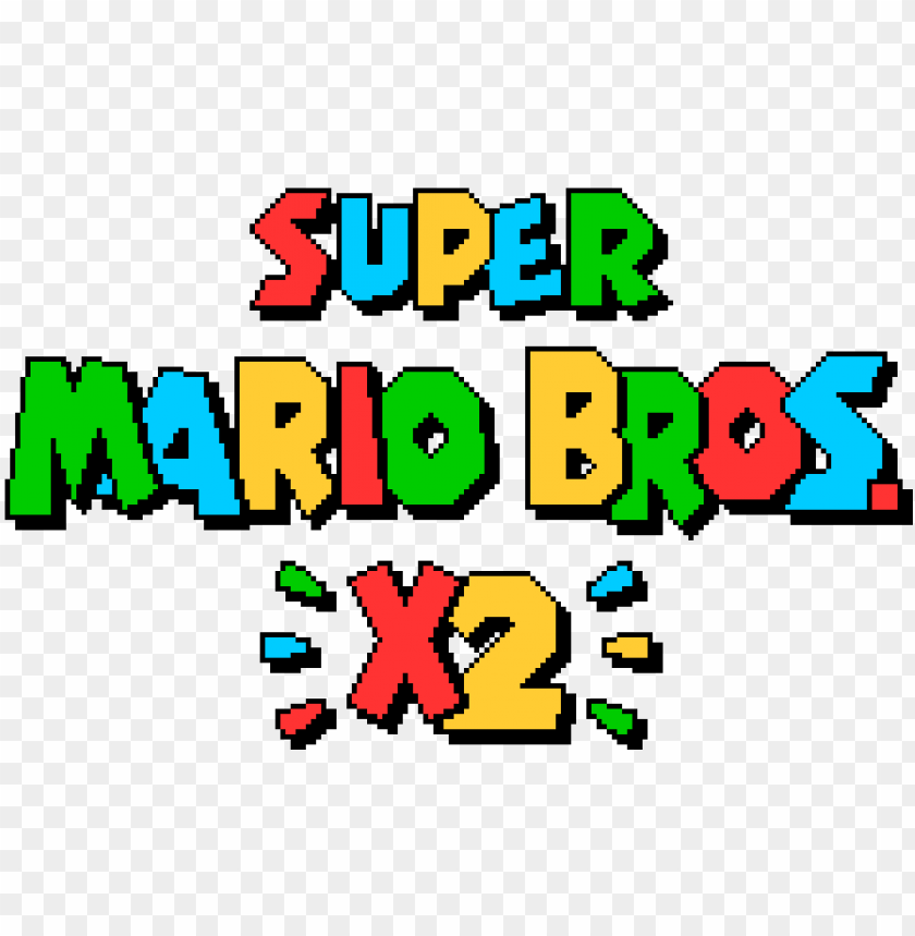 Smbx2 Logo Super Mario Bros X 2 Png Image With Transparent