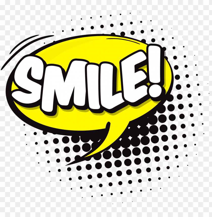 free PNG smile speech bubble png - comic bubble smile PNG image with transparent background PNG images transparent