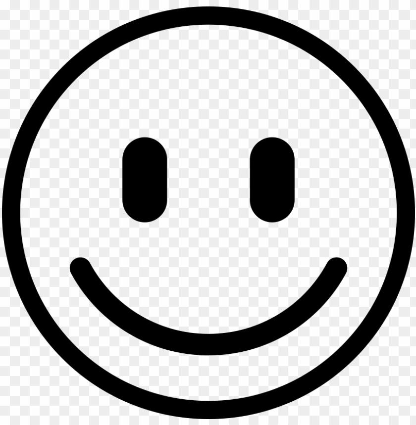 free PNG smiley blanc png - smiley noir et blanc PNG image with transparent background PNG images transparent