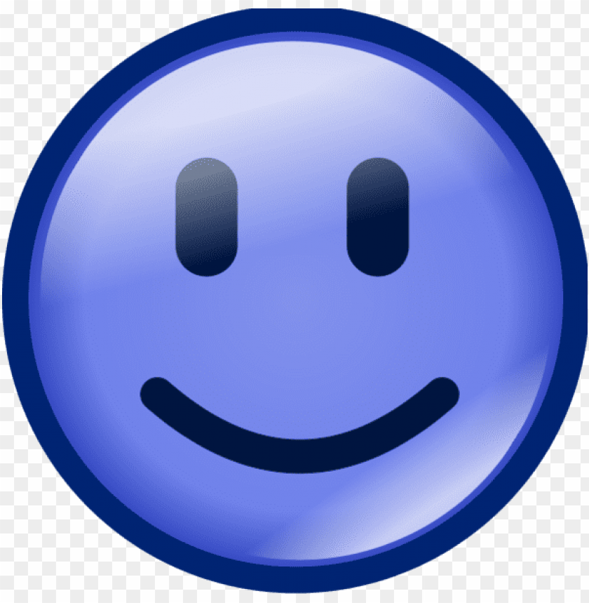 free PNG smiley face vector clip art - smiley face color blue PNG image with transparent background PNG images transparent