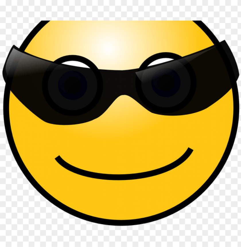free PNG smiley face with glasses meme - gif cool face emoji PNG image with transparent background PNG images transparent