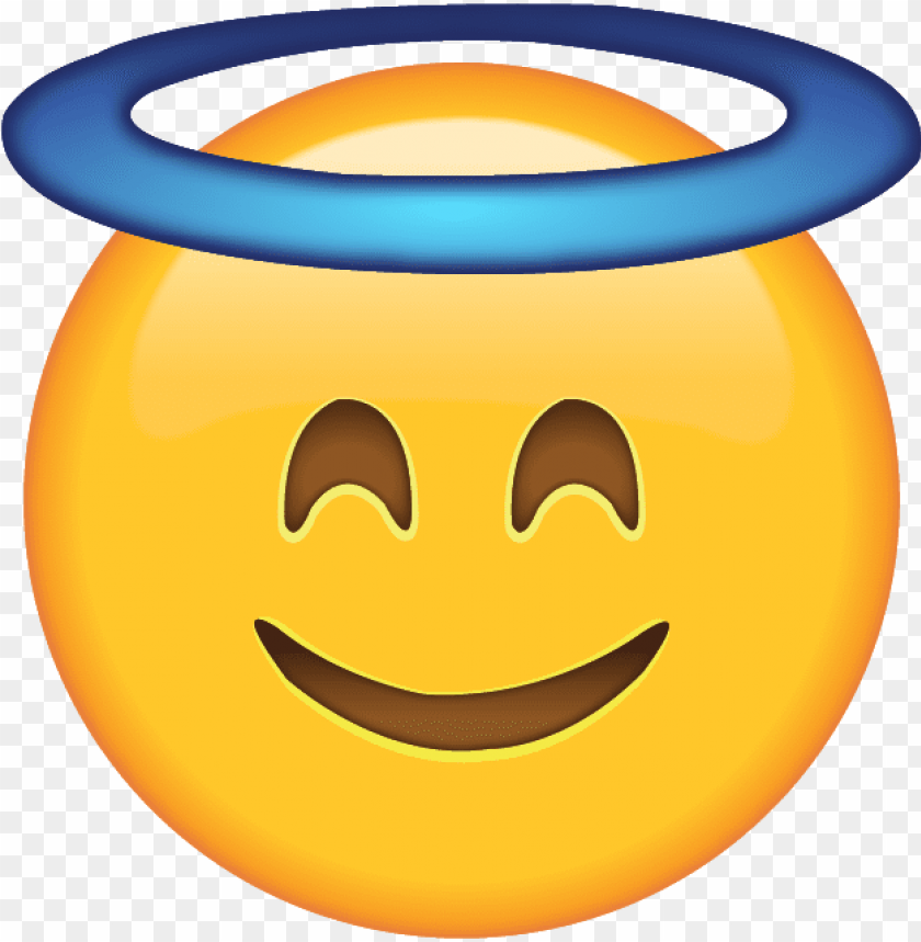 free PNG smiling face with halo - smiling face with halo PNG image with transparent background PNG images transparent