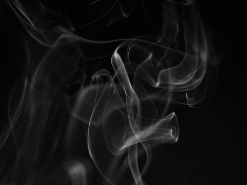 free PNG smoke, white, wriggling, black background, abstract background PNG images transparent