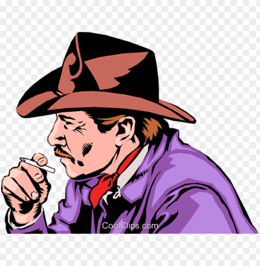 free PNG smoking cowboy PNG image with transparent background PNG images transparent