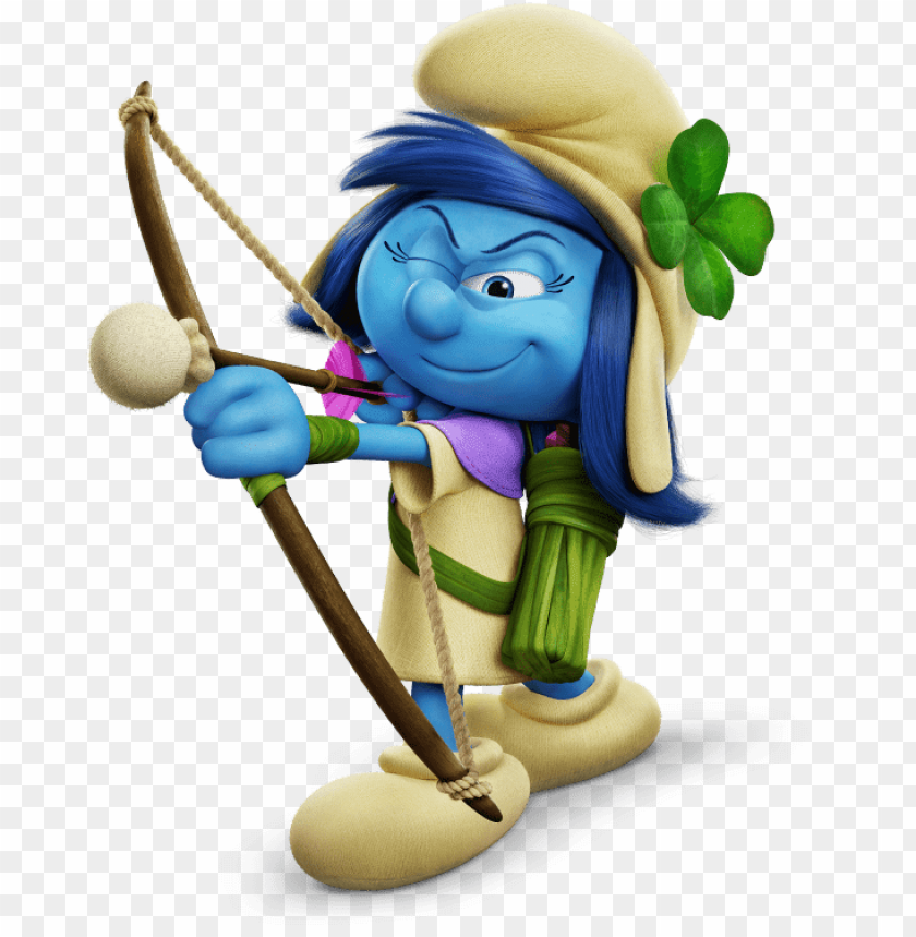free PNG Download smurf storm shooting arrow clipart png photo   PNG images transparent