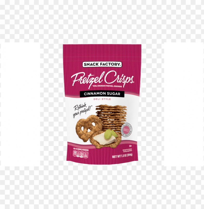 free PNG snack factory cinnamon sugar pretzel crisps PNG image with transparent background PNG images transparent