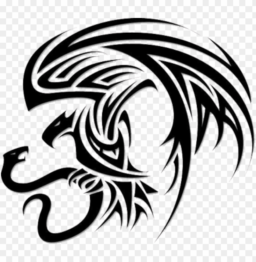 free PNG snake tattoo free png image - eagle snake tattoo tribal PNG image with transparent background PNG images transparent