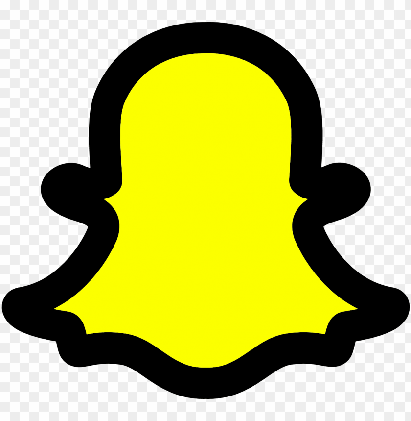 free PNG snapchat is called as the best smartphone application - snapchat icon transparent background png - Free PNG Images PNG images transparent