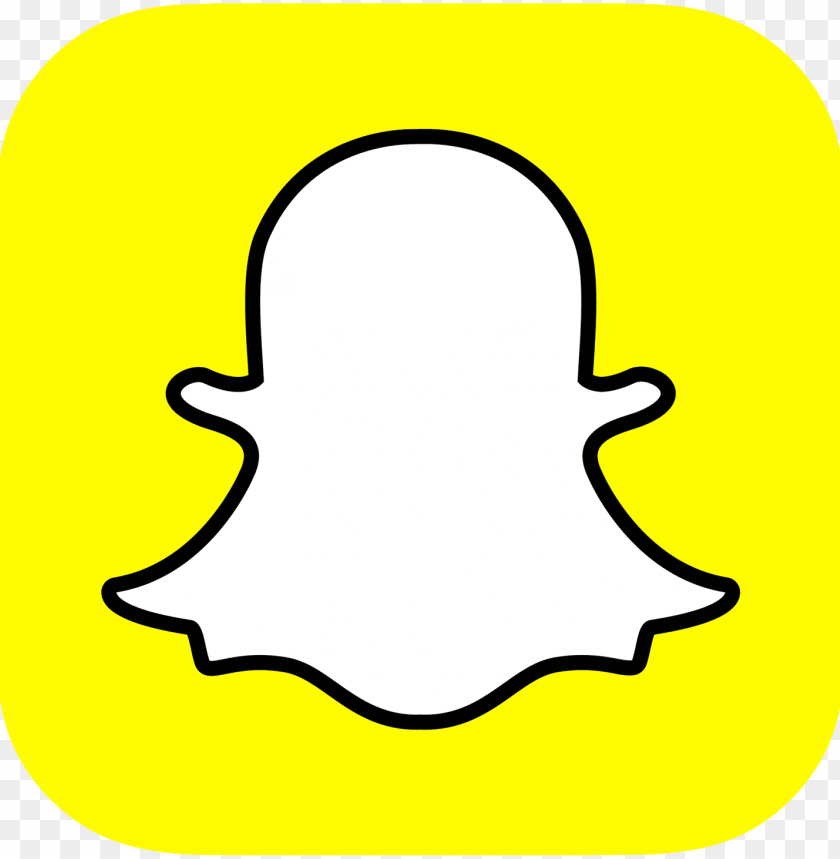 free PNG snapchat logo - logo snapchat PNG image with transparent background PNG images transparent