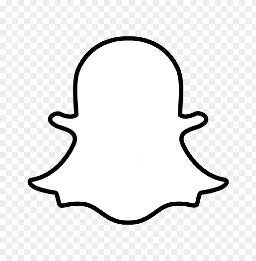 free PNG snapchat logo vector PNG images transparent