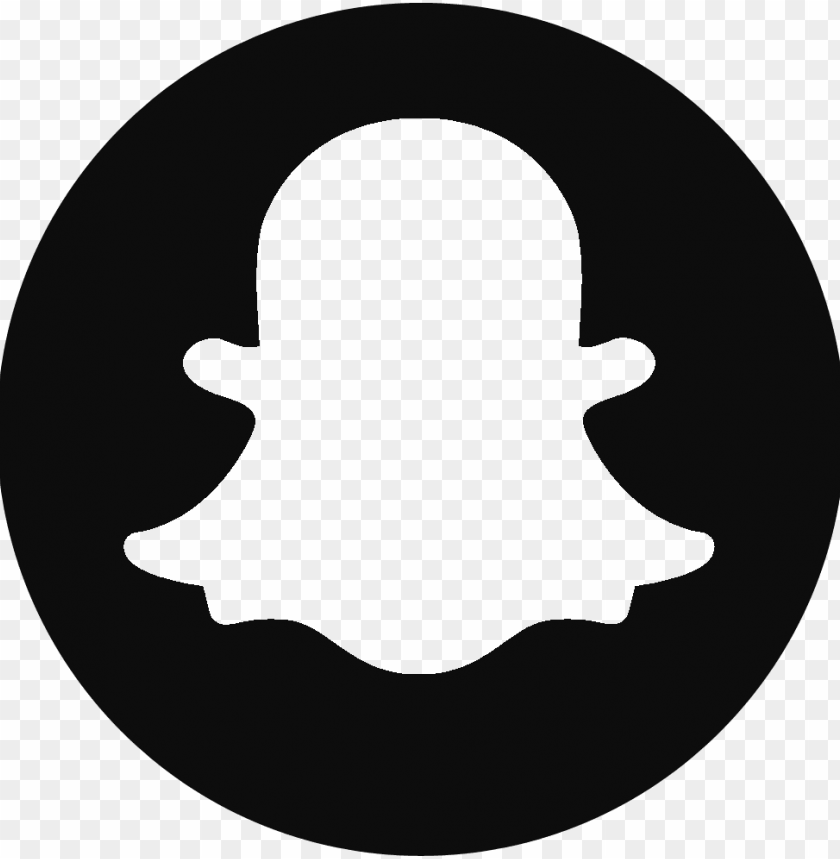 free PNG snapchat logo4 - snapchat logo png black and white PNG image with transparent background PNG images transparent