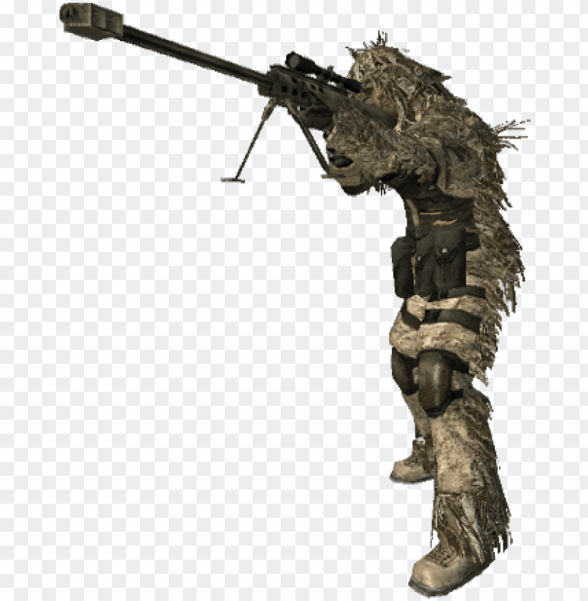 Sniper Png Call Of Duty Sniper Character Png Image With