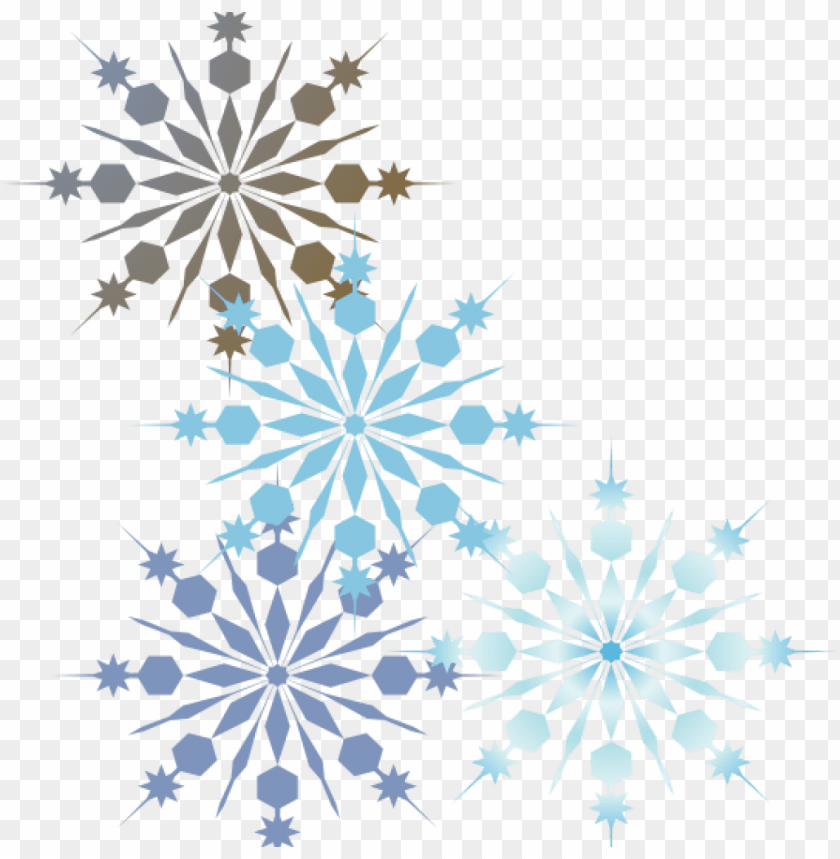 free PNG snowflake border clip art holiday snowflake border - transparent snowflake border clipart PNG image with transparent background PNG images transparent