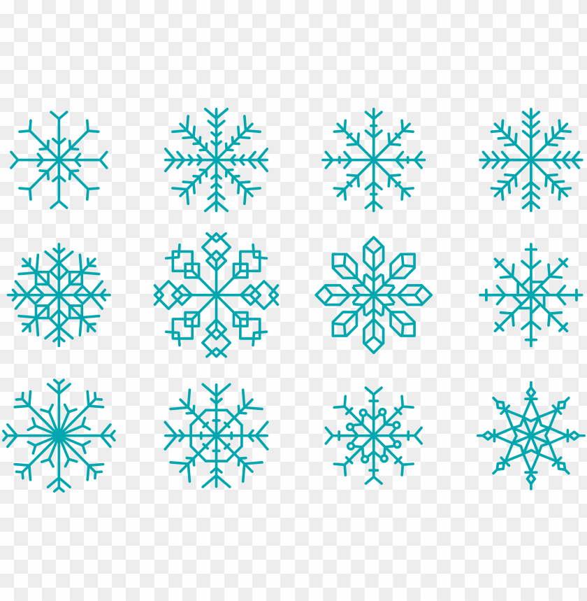free PNG snowflake euclidean vector shape - snowflake PNG image with transparent background PNG images transparent