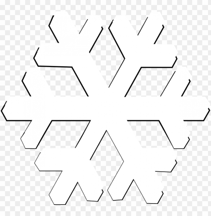free PNG snowflake png image - white snowflake no background PNG image with transparent background PNG images transparent