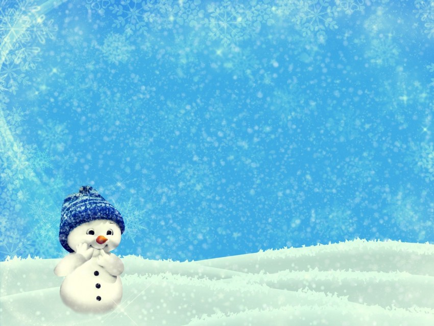 free PNG snowman, winter, christmas, new year, cute, illustration background PNG images transparent