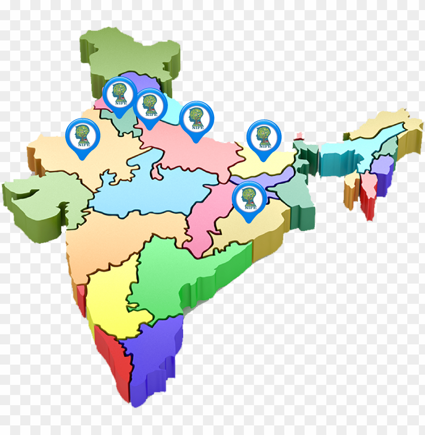 free PNG so we are open to give our franchises to interested - 3d map of india PNG image with transparent background PNG images transparent