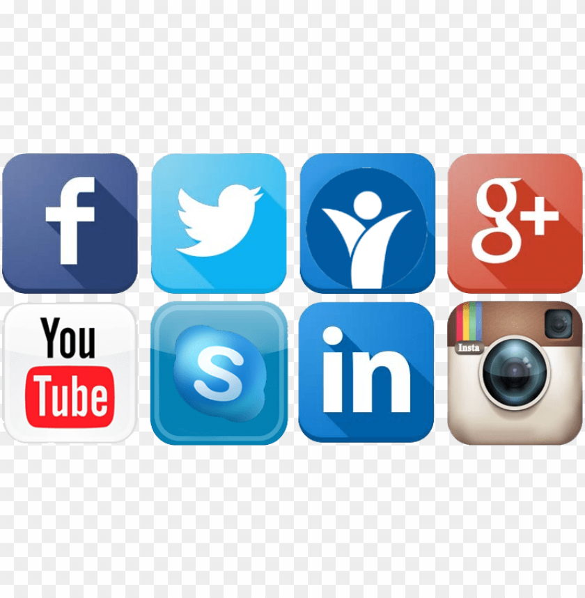 free PNG social media icon - all social media signs PNG image with transparent background PNG images transparent
