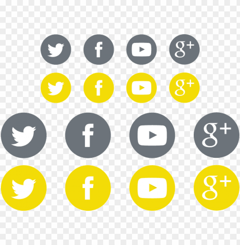 free PNG social media icon sets for your - social media icon transparent yellow png - Free PNG Images PNG images transparent