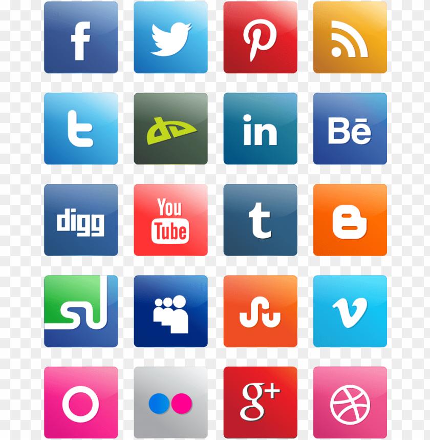 free PNG social media icons - media social retro icon png - Free PNG Images PNG images transparent