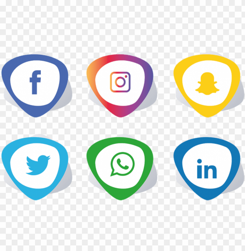 free PNG social media icons set - facebook instagram whatsapp png - Free PNG Images PNG images transparent