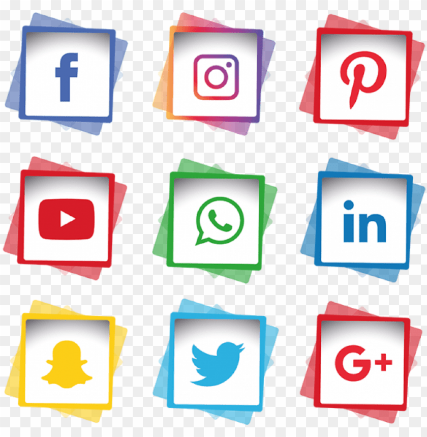 free PNG social media icons set, social, media, icon  and - social media logo white png - Free PNG Images PNG images transparent