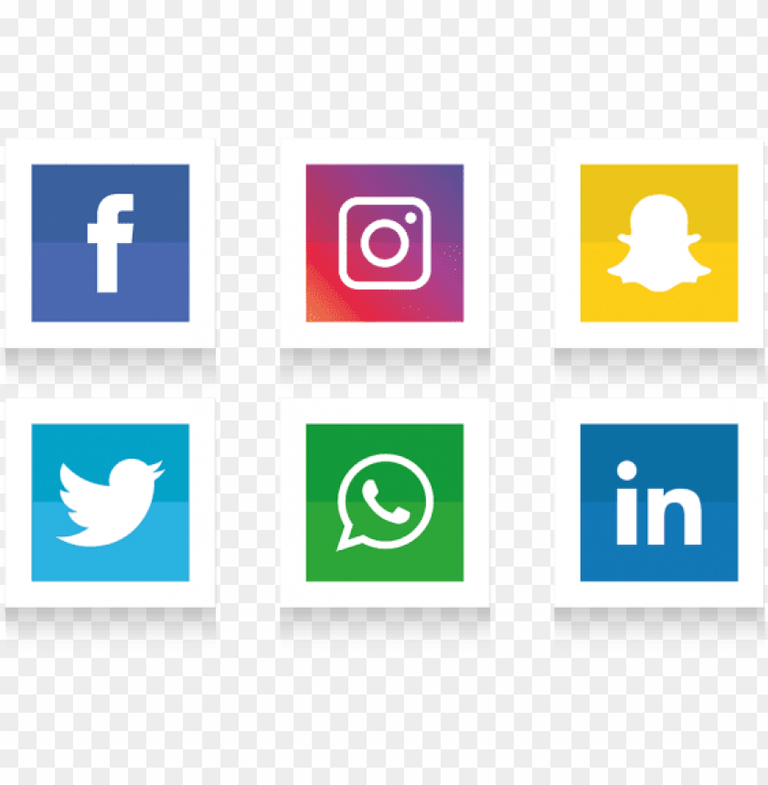 free PNG social media icons set - social media logos transparent PNG image with transparent background PNG images transparent