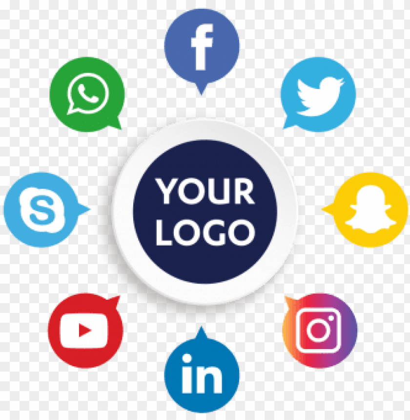 free PNG social media icons, social, media, icon  and vector - digital media icon png - Free PNG Images PNG images transparent