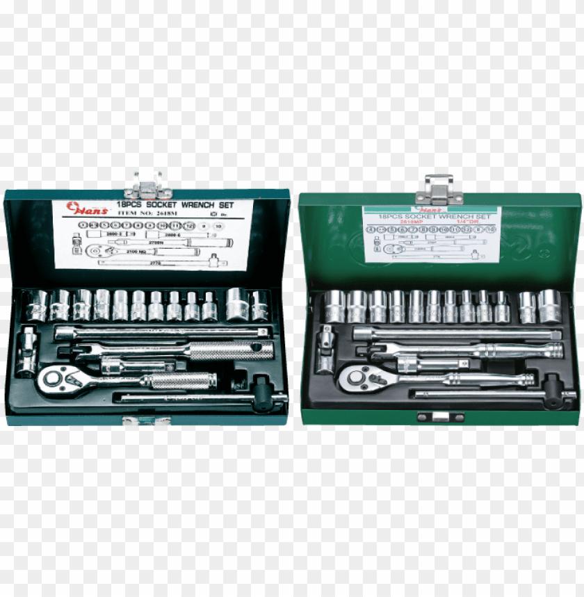 free PNG socket wrench sets - hans socket set 1 4 PNG image with transparent background PNG images transparent