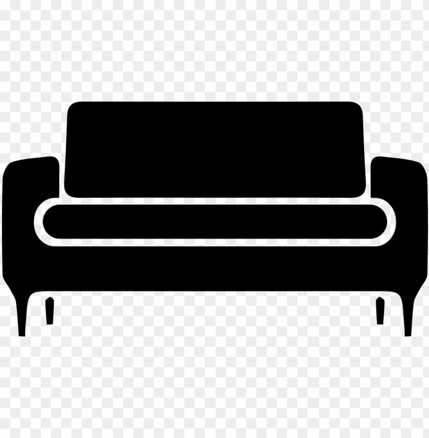 free PNG sofa svg  icon free- sofa black icon png - Free PNG Images PNG images transparent