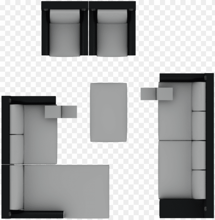 Sofa Top View Png Office Chair Plan