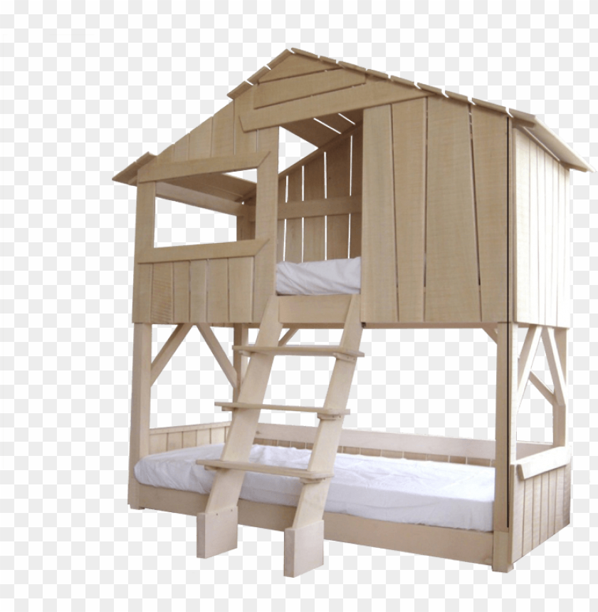 free PNG solid wood hut bed - mathy by bols kids bunk bed with drawers & desk PNG image with transparent background PNG images transparent