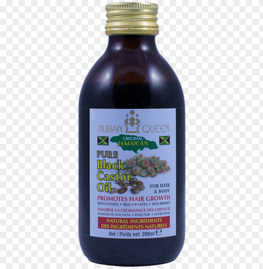 free PNG some description - nubian queen pure black castor oil 200ml PNG image with transparent background PNG images transparent