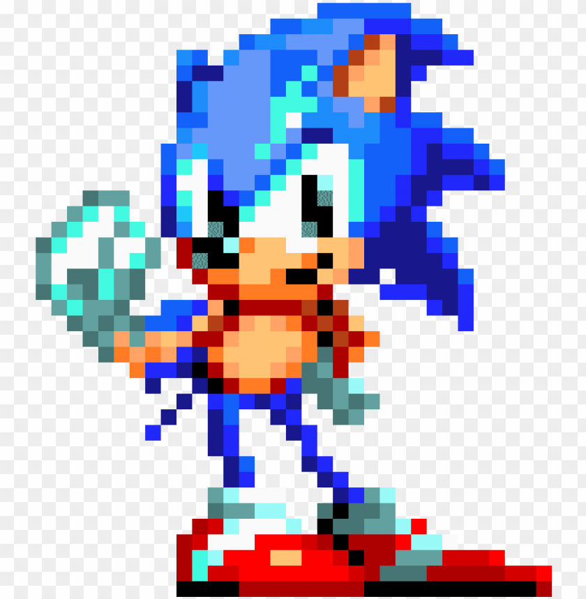 Sonic Mania Classic Sonic Sonic Mania Sprite Gif Png Image With Transparent Background Toppng