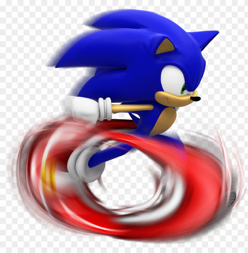 Sonic Running Png Sonic Runni Png Image With Transparent Background Toppng
