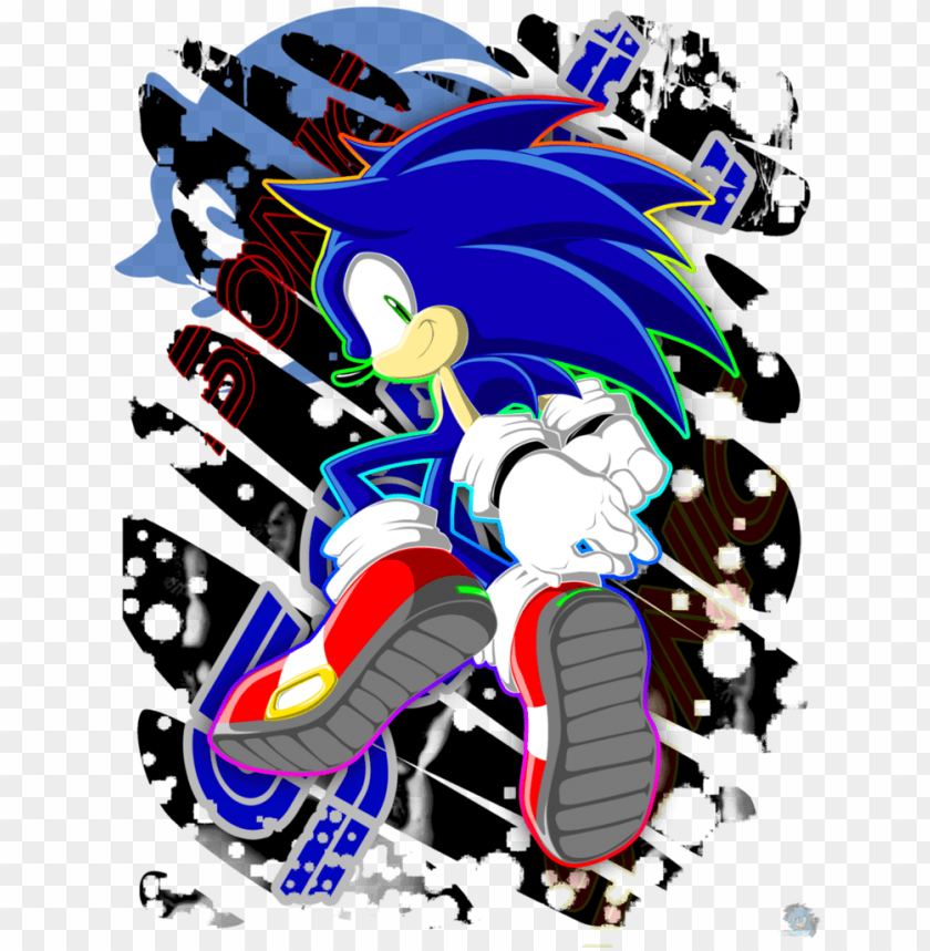Sonic The Hedgehog Images Im Blue Hd Wallpaper And Sonic The Hedgehog Graffiti Png Image With Transparent Background Toppng