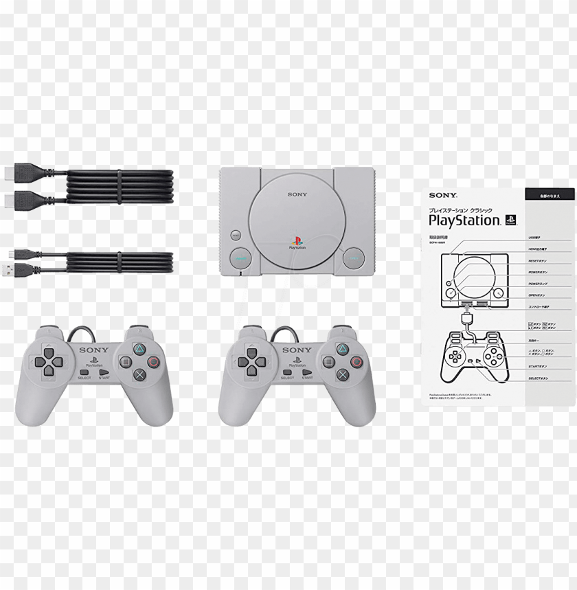 free PNG sony playstation classic sony scph-1000r - playstation classic hack PNG image with transparent background PNG images transparent