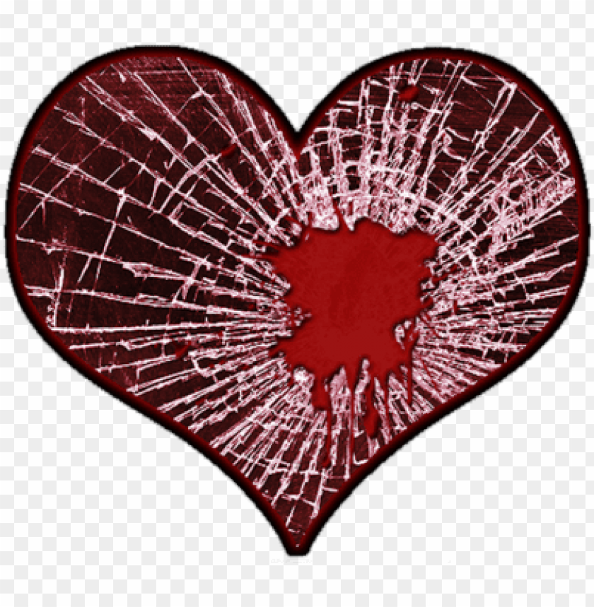free PNG source - shattered heart PNG image with transparent background PNG images transparent