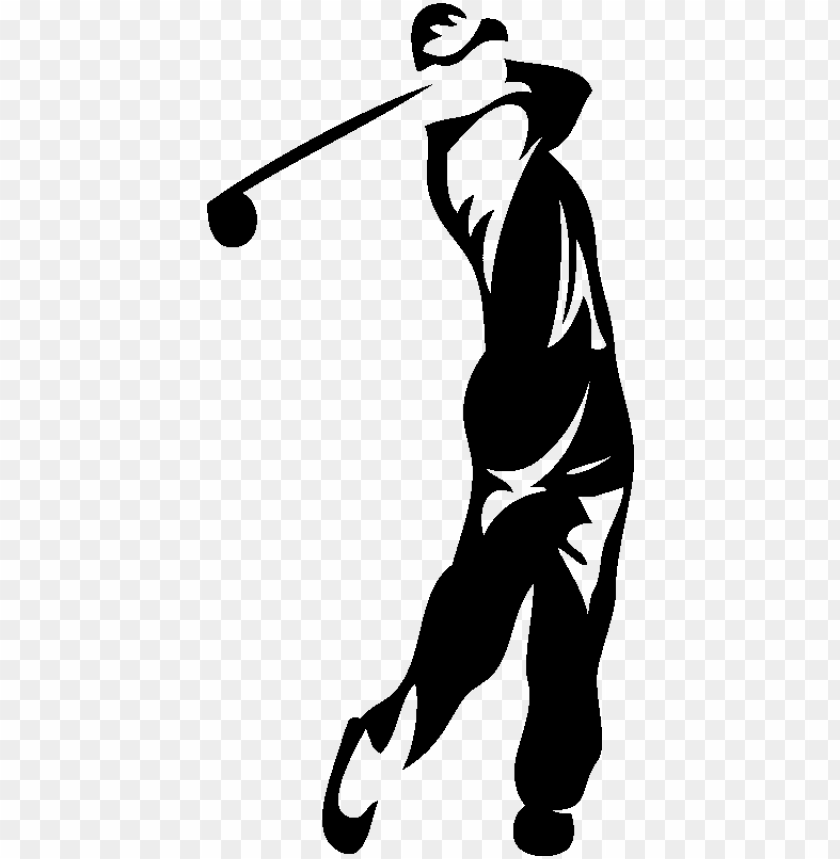 free PNG source - www - ambiance-sticker - com - report - golfer - illustratio PNG image with transparent background PNG images transparent
