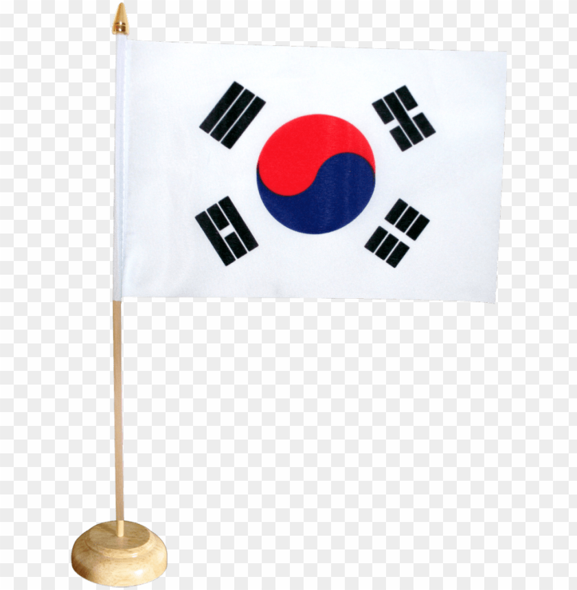 "free PNG south korea table flag - mini south korea flag - 4x6"" PNG image with transparent background PNG images transparent"