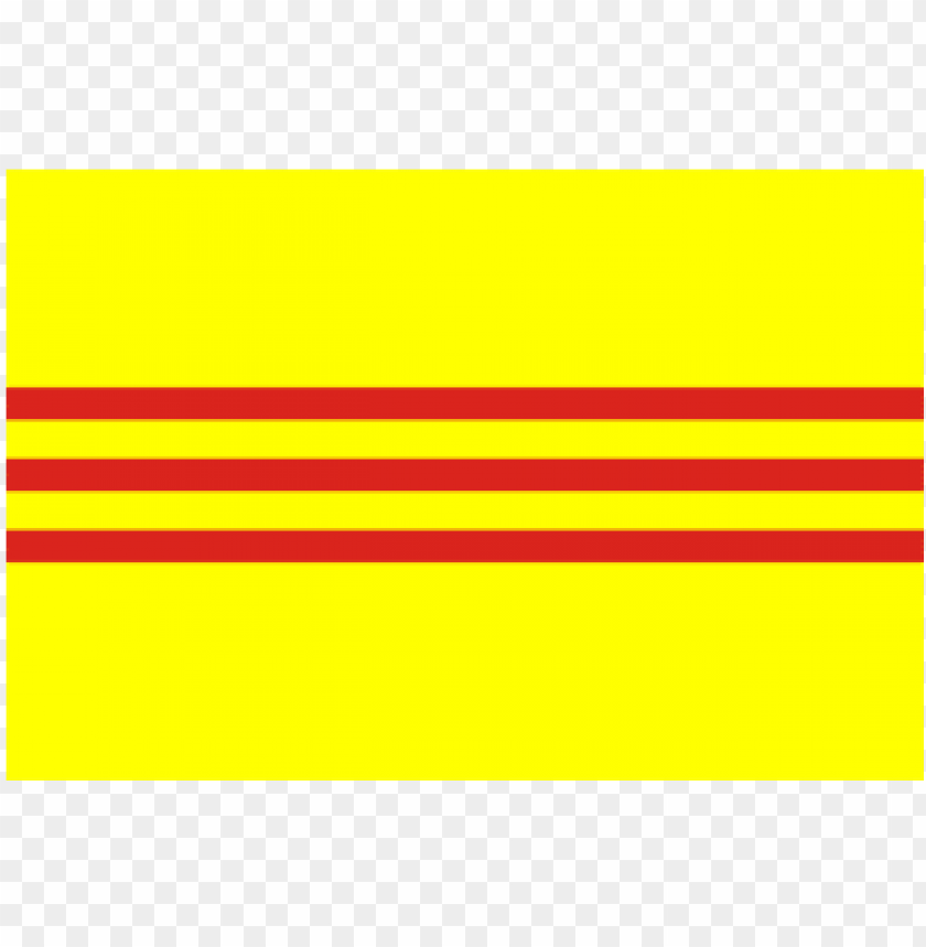South Vietnam Flag Flag Of South Vietnam Png Image With Transparent Background Toppng