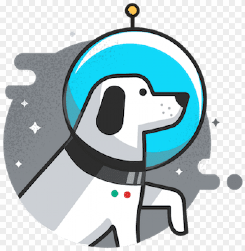 free PNG space dog illustratio PNG image with transparent background PNG images transparent