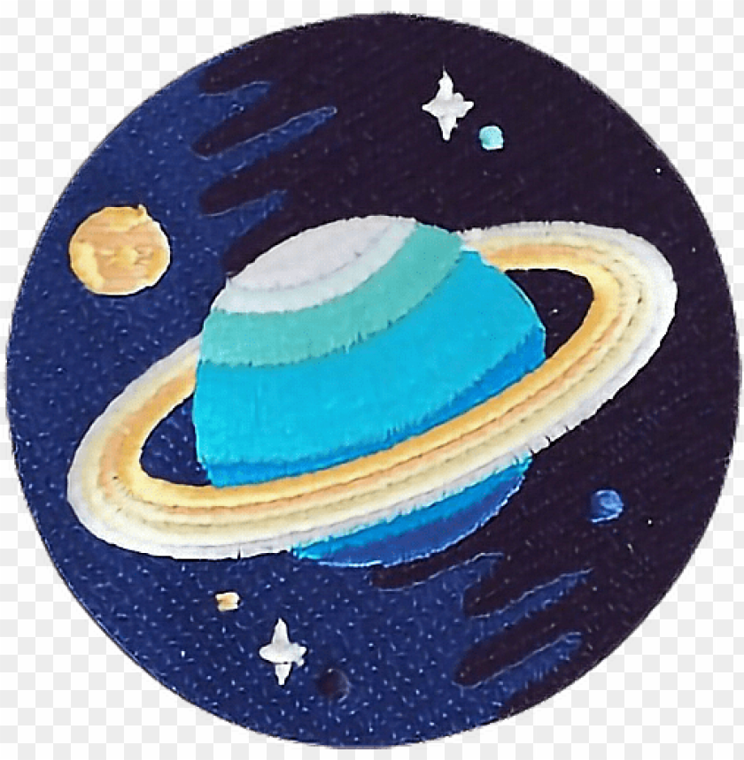 free PNG space patch planet blue tumblr clothes stars freetoedit PNG image with transparent background PNG images transparent