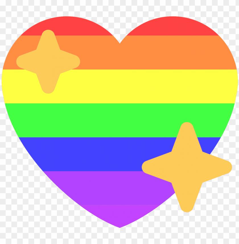 free PNG sparkle heart emoji twitter style source - emoji PNG image with transparent background PNG images transparent