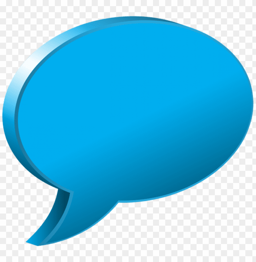 Download speech bubble blue clipart png photo  @toppng.com