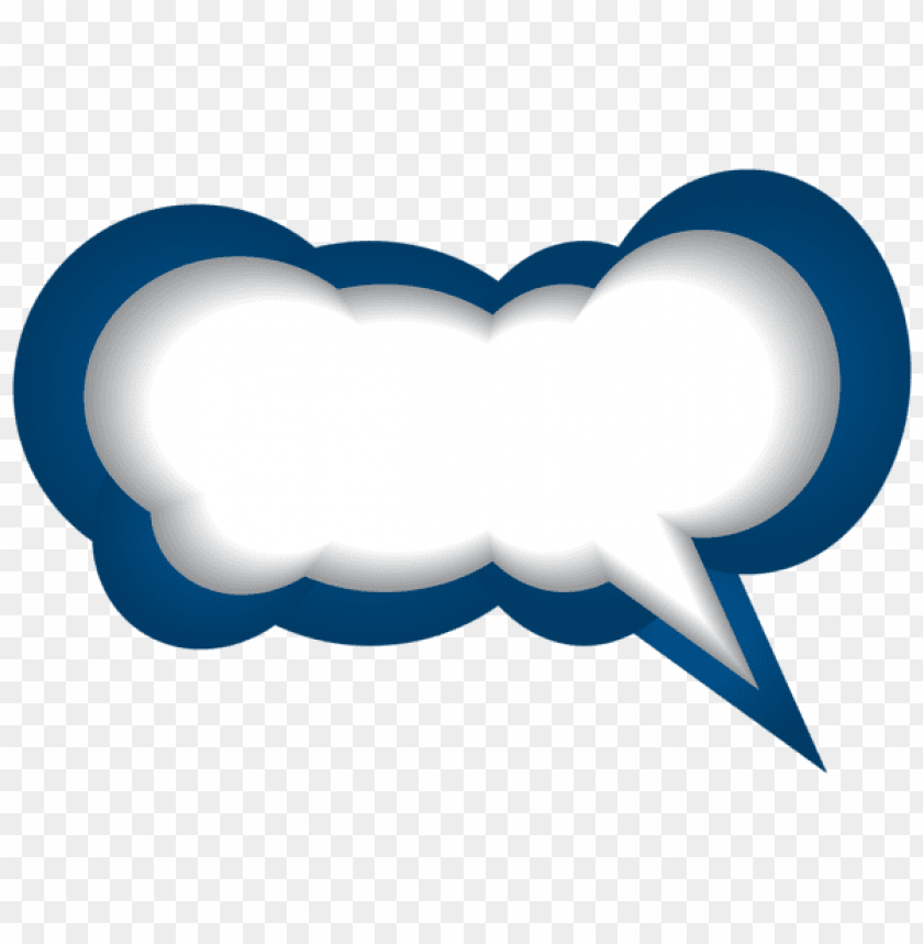 free PNG Download speech bubble blue white clipart png photo   PNG images transparent