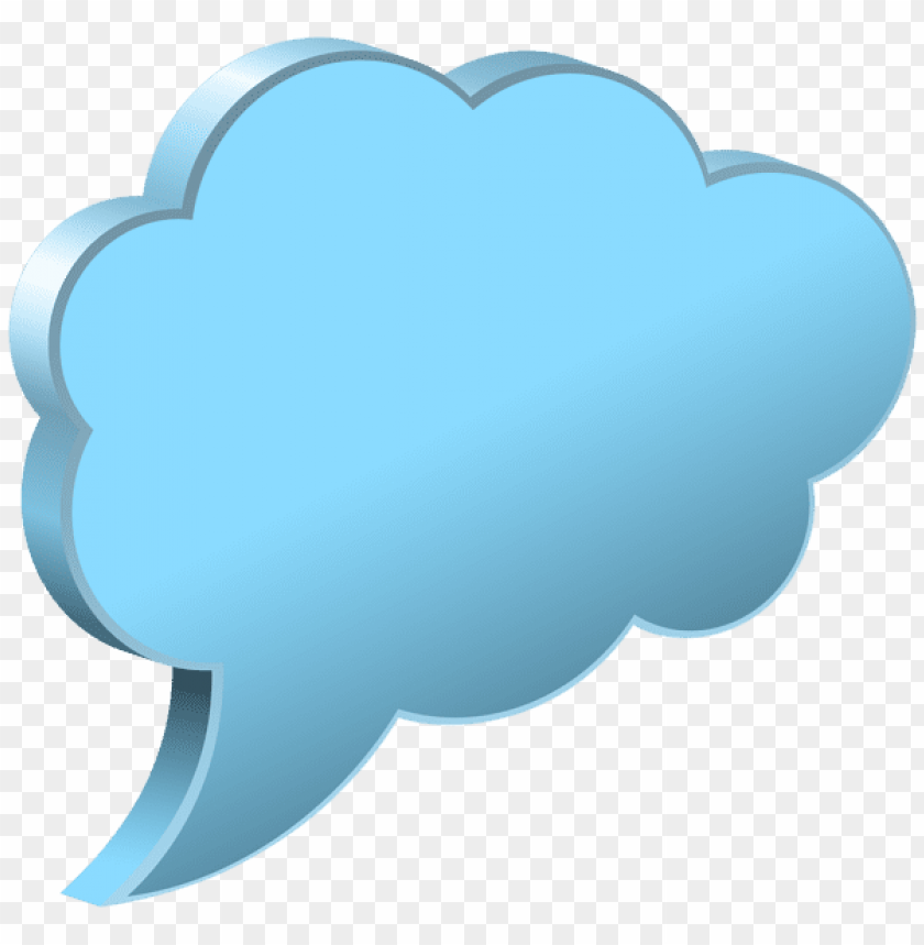 Download speech bubble cloud clipart png photo  @toppng.com