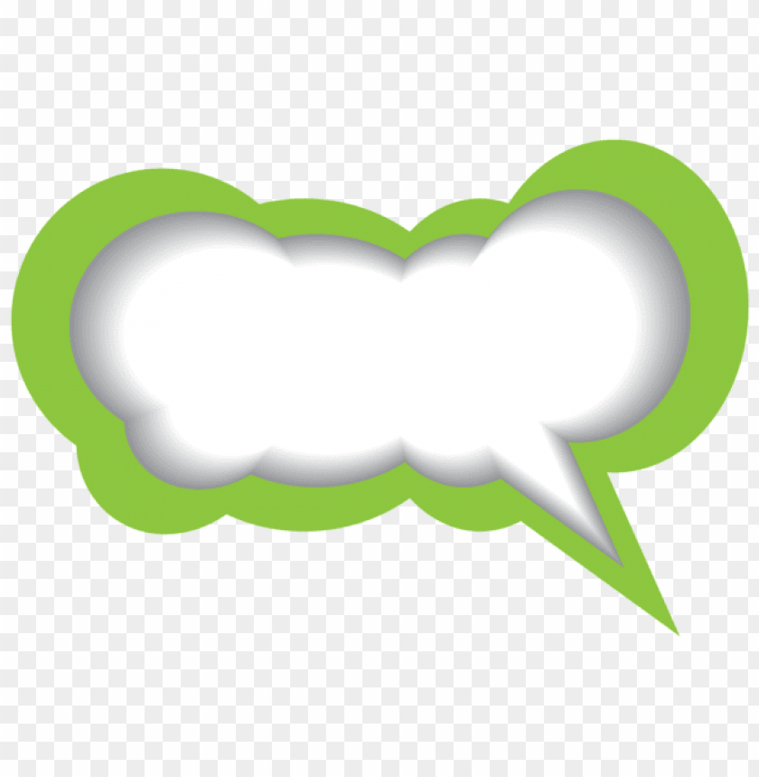 free PNG Download speech bubble green white clipart png photo   PNG images transparent