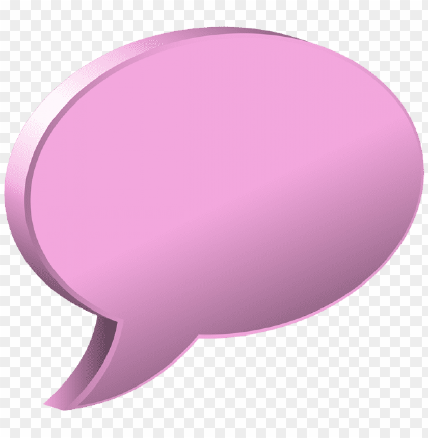 free PNG Download speech bubble pink clipart png photo   PNG images transparent
